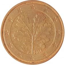5 евроцентов  Германия 2014