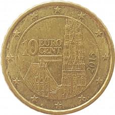 10 евроцентов Австрия 2015