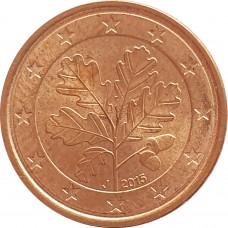 1 евроцент Германия 2015