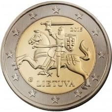2 евро Литва 2015