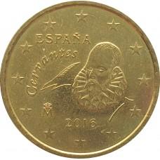 50 евроцентов Испания 2016