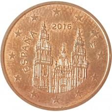 5 евроцентов  Испания 2016
