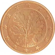 5 евроцентов  Германия 2016