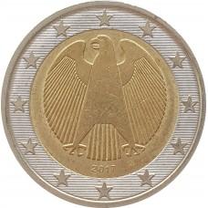 2 евро Германия 2017 J