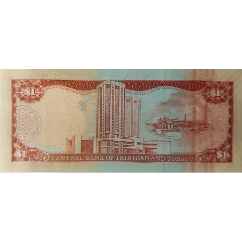 Тринидад и Тобаго 1 доллар 2006 UNC пресс