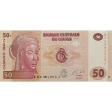 Конго.50 франков.2013.UNC пресс.