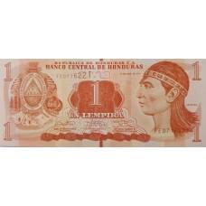 Гондурас 1 Лемпира 2014 UNC пресс.