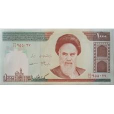 Иран 1000 риалов 1992-2011UNC пресс