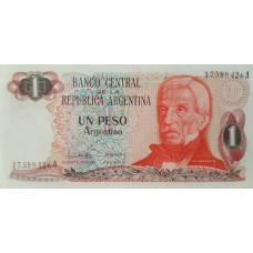 Аргентина.1 песо 1983 г. UNC пресс.