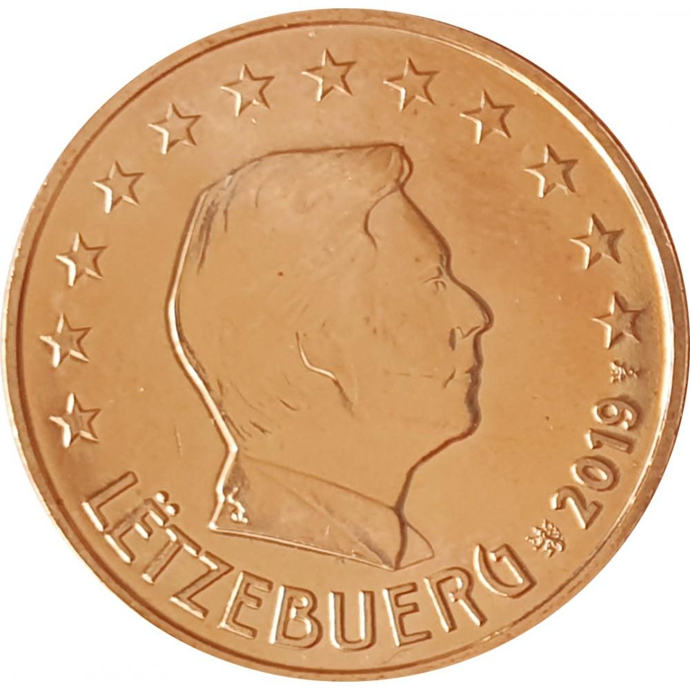 5 евроцентов Люксембург 2019