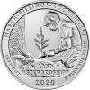 25 центов США 2020 Национальный исторический парк Рокфеллера, Вермонт, 54-й парк
