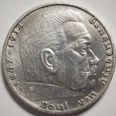 2 марки 1937года. Серебро 625