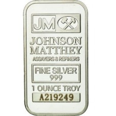 1 Унция Джонсон Матти. Серебро, слиток