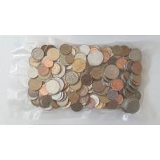 Монеты мира, микс, 1 кг, запаянный пакет