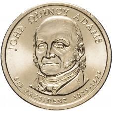 1 доллар 2008, Джон Куинси Адамс, 6-й Президент США