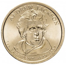 1 доллар 2008 ЭНДРЮ ДЖЕКСОН ,7-й Президент США