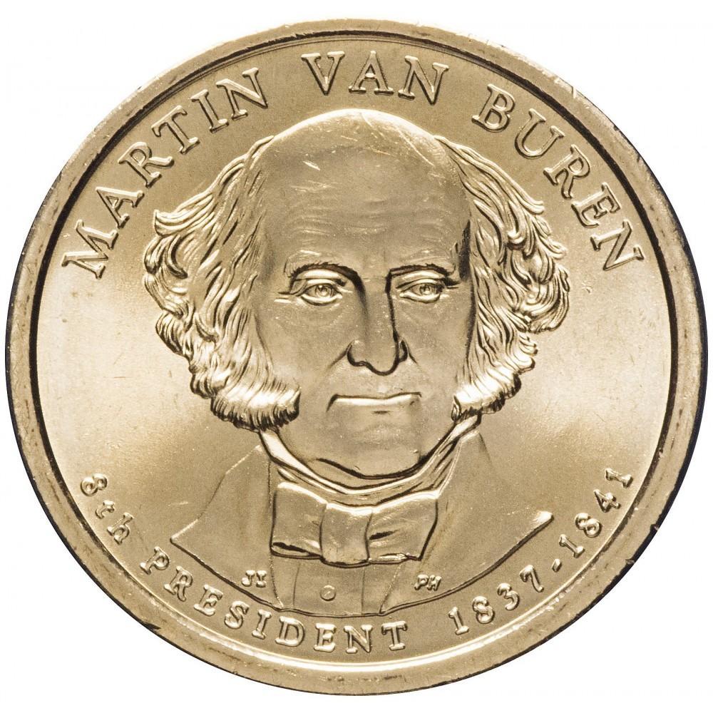 1 доллар 2008 Мартин Ван Бурен , 8-й Президент США