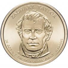 1 доллар 2009 Закари Тейлор 12-й Президент США