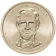 1 доллар 2010, Авраам Линкольн, 16-й Президент США