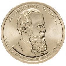 1 доллар 2011 Ратерфорд Хейз , 19-й Президент США