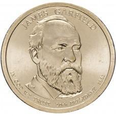 1 доллар 2011, Джеймс Гарфилд, 20-й Президент США