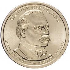 1 доллар 2012 Гровер Кливленд , 24-й Президент США