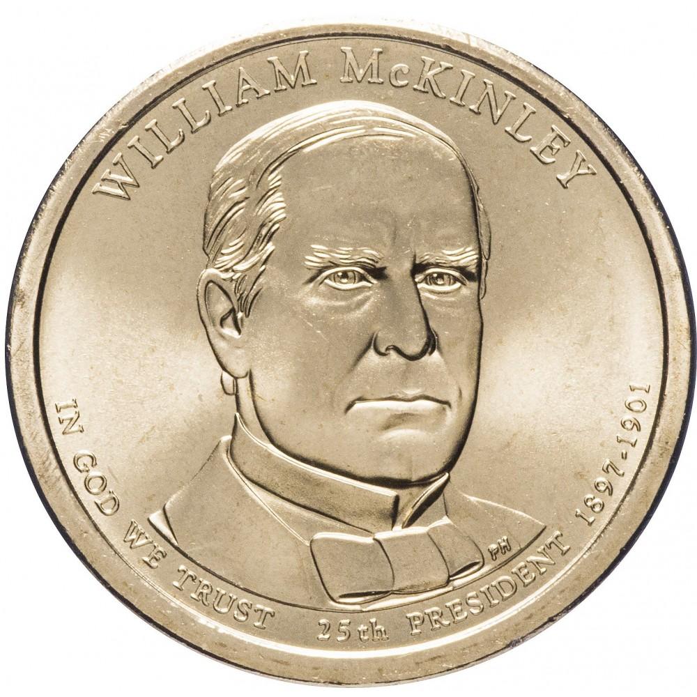1 доллар 2014 Уильям Маккинли, 25-й Президент США