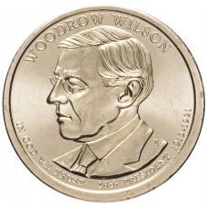 1 доллар 2013, Вудро Вильсон, 28-й Президент США