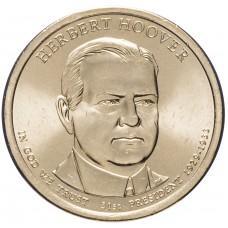 1 доллар 2014 Герберт Гувер, 31-й Президент США