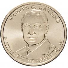 1 доллар 2014 Уоррен Гардинг, 29-й Президент США