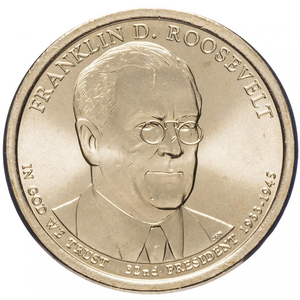 1 доллар 2014, Франклин Рузвельт, 32-й Президент США