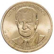1 доллар 2015, Линдон Джонсон, 36-й Президент США