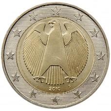 2 евро Германия 2010 aUNC
