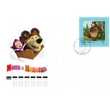 2019 Герои отечественных мультфильмов. «Маша и Медведь»№2110.3