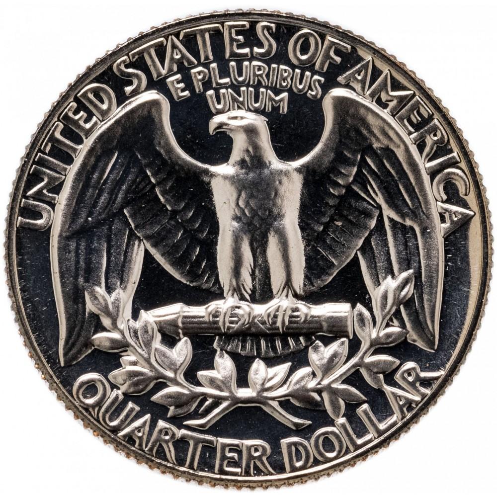 25 центов США 1965-1998 год