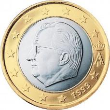 1 евро Бельгия 1999