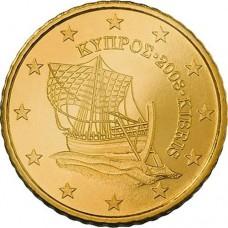 10 евроцентов Кипр 2008 (XF)