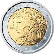 2 евро Италия 2002