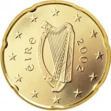 20 евро центов Ирландия 2002