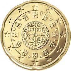 20 евро центов Португалия 2009
