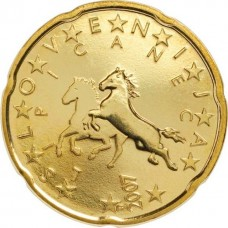 20 евро центов Словения 2007