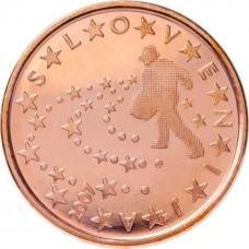 5 евро центов Словения UNC