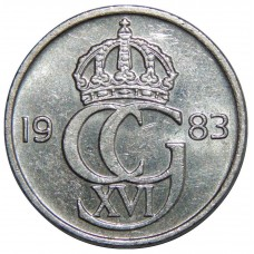 50 эре 1976-1991 Швеция, Карл XVI Густав