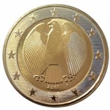 2 евро Германия 2017 D.UNC