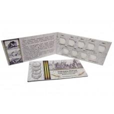 Альбом для монет Города-герои 2 рубля 2000 года на  9 ячеек