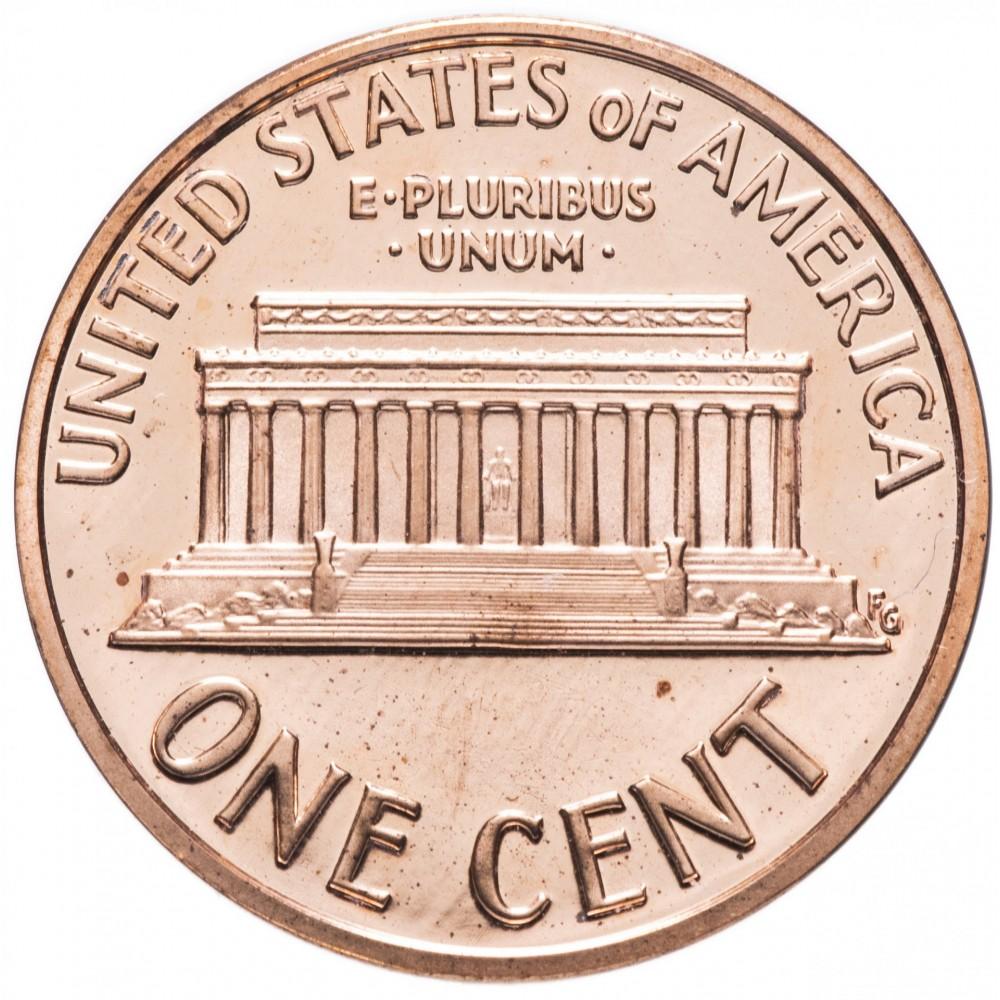 1 цент США 2004 год