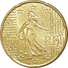 10 евроцентов Франция 2010