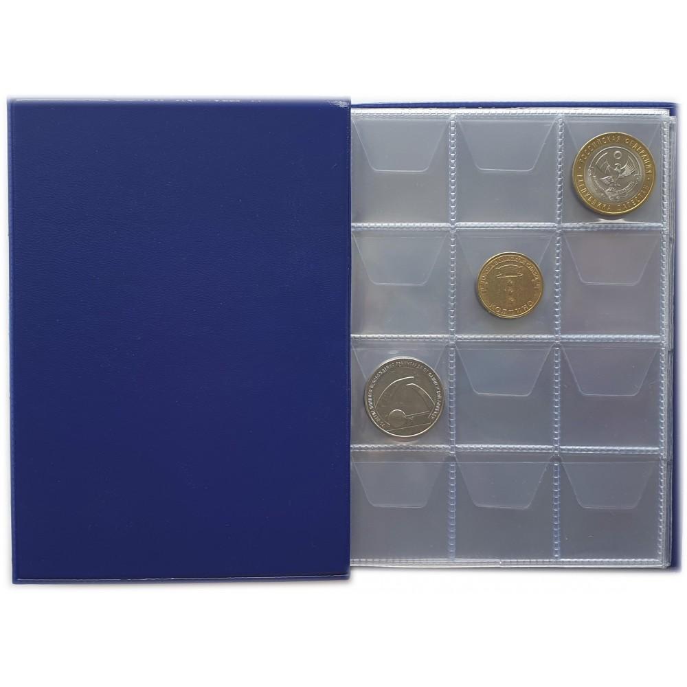 Монетник для 120 монет диаметром до 28мм