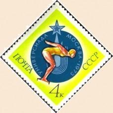 1973 Международные спортивные соревнования студентов - Универсиада.Плавание