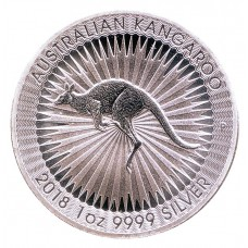 Австралия 1 доллар 2018. Кенгуру. Серебро. ПРУФ